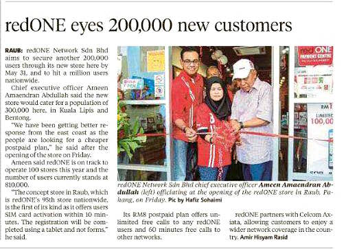 redONE Eyes 200,000 New Customers