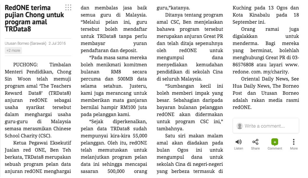 Utusan Borneo_News