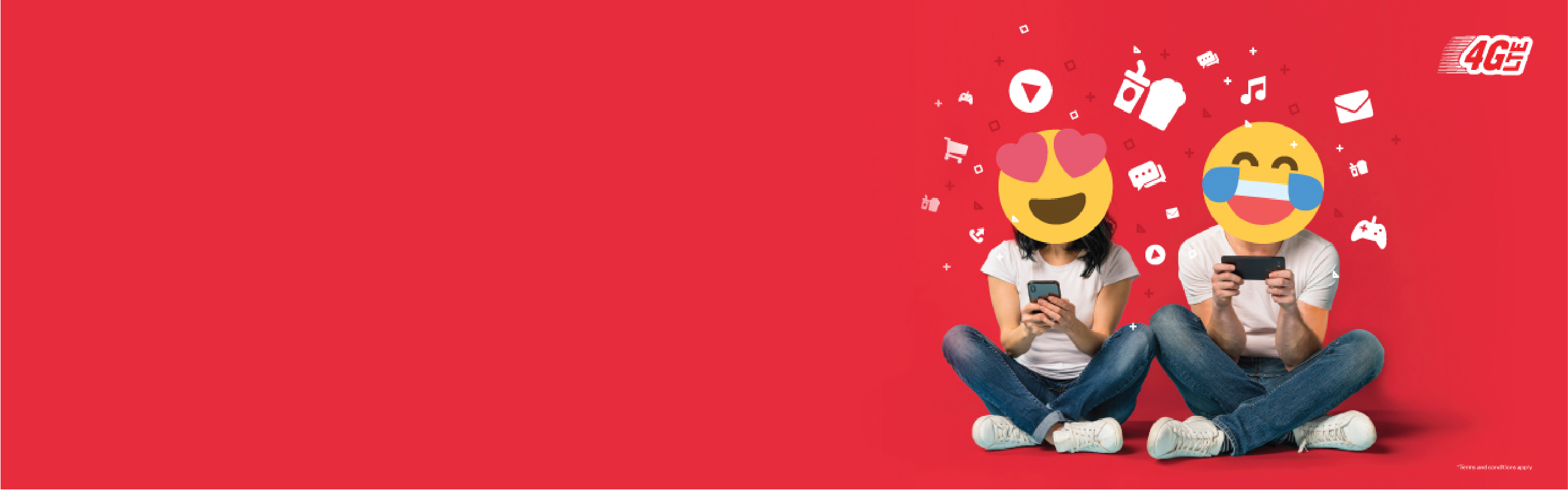 AMAZING68M <br /> MNP Port-In, Switch To Amazing68M & Get 12 Months FREE 10GB 4G LTE Data<br /> To Binge-watch Your Favourite Online Videos