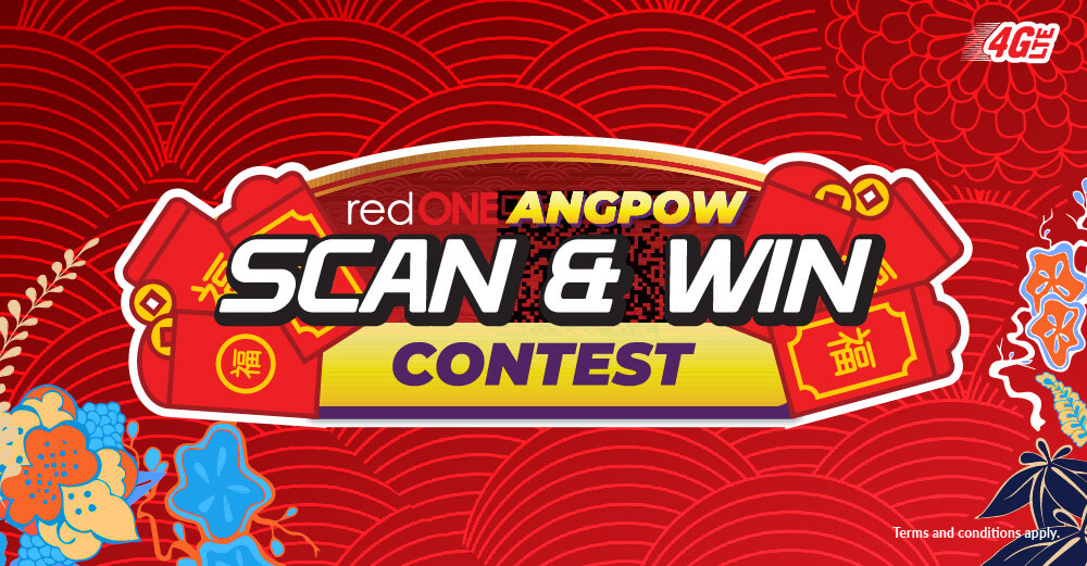 We're looking for 36 daily winners this CNY!