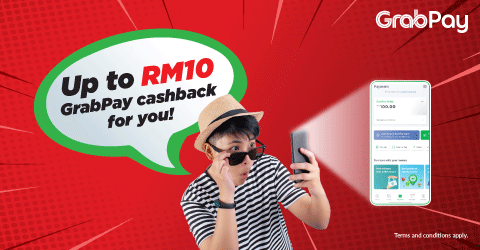 Get exclusive GrabPay cashback with redONE