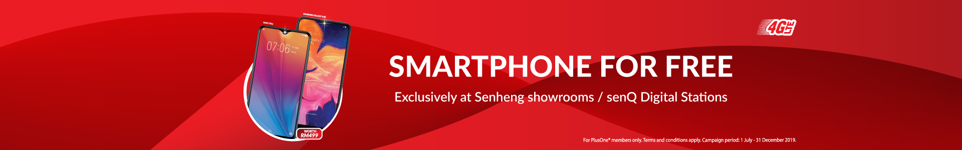 Exclusively available at all Senheng showrooms & senQ Digital stations!