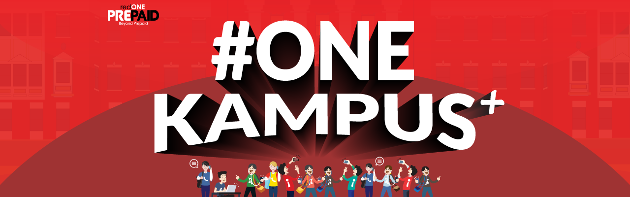 Get your FREE #ONEkampus+ pack at selected campuses 