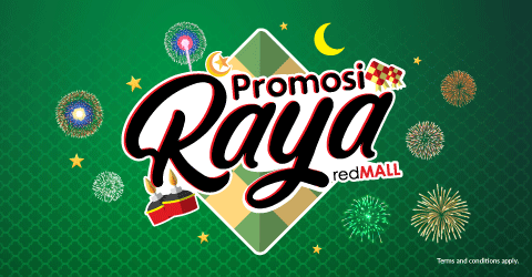 Promosi Raya redMALL, Purchase mobile gadgets and get up to RM100 off this Raya!